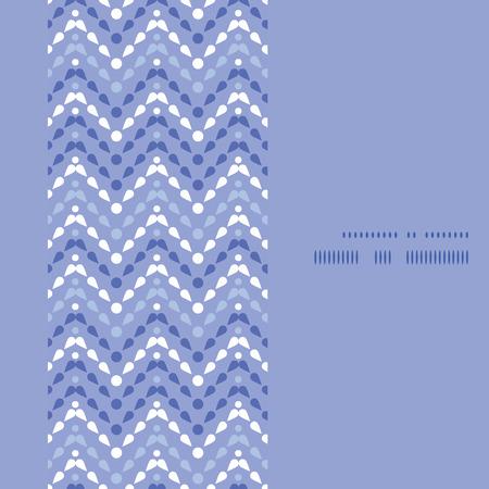 Vector purple drops chevron vertical frame seamless pattern background Vector