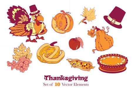 10 Thanksgiving Design Elements.