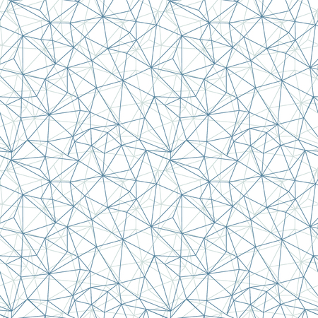 Grey network web texture vector seamless pattern. Great for space inspired wallpaper, backgrounds, invitations, packaging design projects. Surface pattern design. Stock Photo