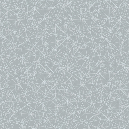 Silver grey network web texture seamless pattern. Great for space inspired wallpaper, backgrounds, invitations, packaging design projects. Surface pattern design. Stock Photo