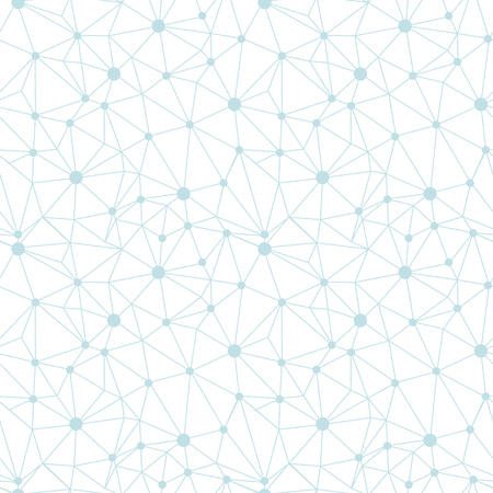 Pastel blue network web texture seamless pattern. Great for abstract modern wallpaper, backgrounds, invitations, packaging design projects. Surface pattern design. Stock Photo