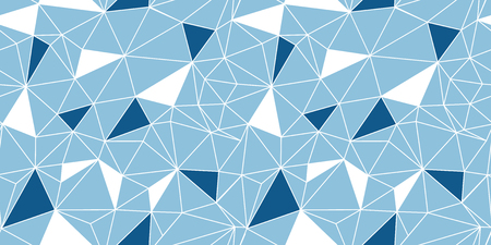 Blue network web texture seamless pattern. Great for abstract modern wallpaper, backgrounds, invitations, packaging design projects. Surface pattern design. Stock Photo