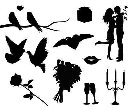Valentines day collection. Vector