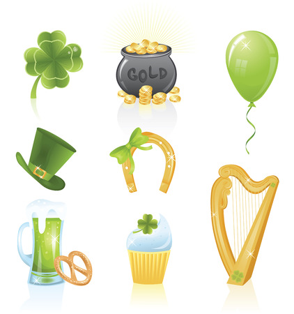 Beautiful collections for St. Patrick's Day. Stock Vector - 6410668