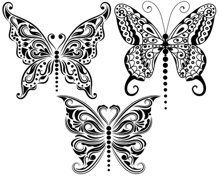 feeler: Set of butterflies.