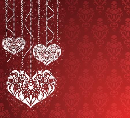 Valentines day backround. Vector