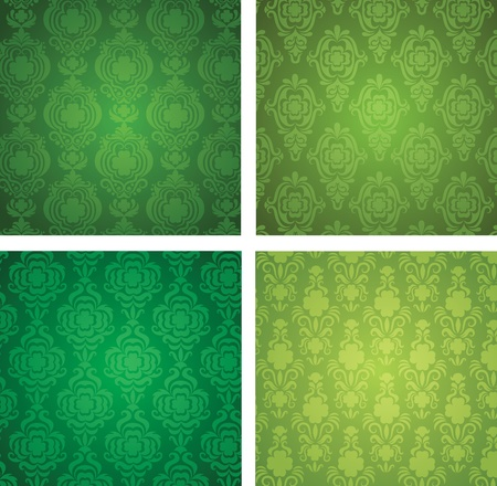 Set of a St. Patrick Vector