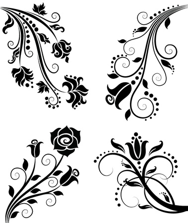 Floral pattern. Stock Vector - 12458149