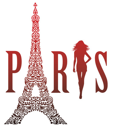 Paris is the capital of fashion. Banco de Imagens - 42029026