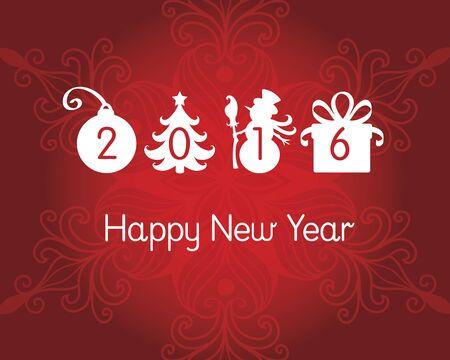happy new years: Happy New Years post card.