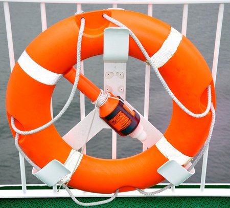 Life buoy Stock Photo - 10119180