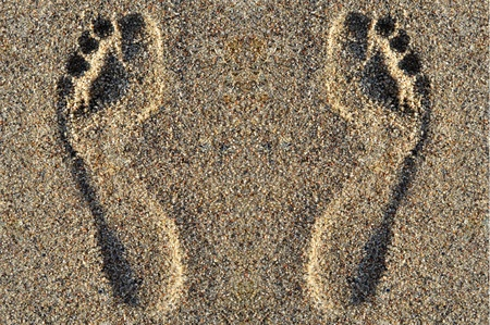 Footprints  photo