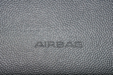 Airbag sign Stock Photo - 10506004