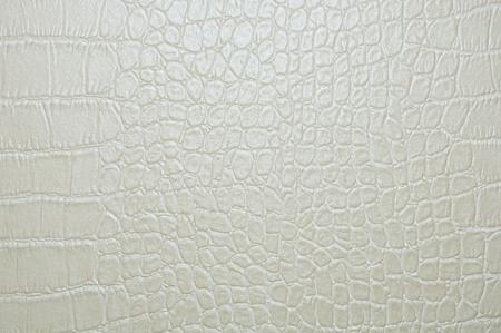 graue faux Krokodilleder Textur Hintergrund. Standard-Bild