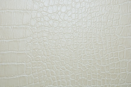 grijze faux krokodil huid textuur achtergrond. Stockfoto