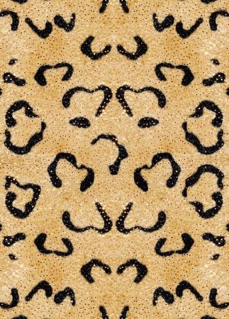 Decorative background - leopard skin
