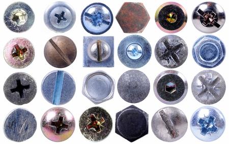 tornillos: Tornillos de cabeza colecci�n