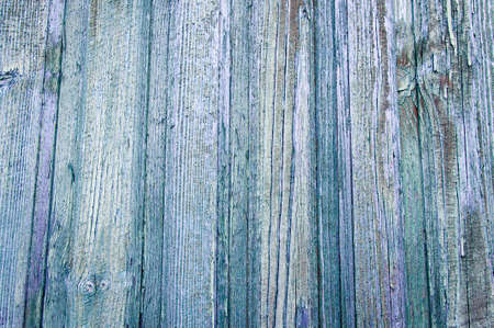 Old wooden painted light blue rustic background.