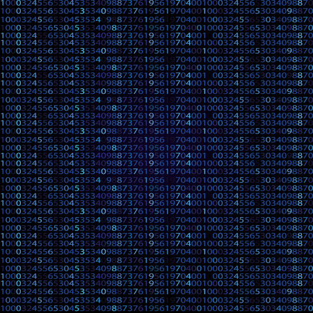 programming code: Abstract Technology Background. Binary Computer Code. Programming  Coding  Hacker concept Illustration