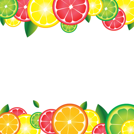 Background of citrus fruits. For bar, cocktails, cafe, restaurant, label, advertising template