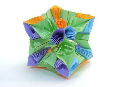 Colorfull origami unit