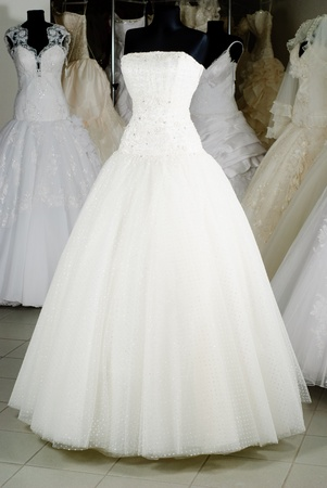 Wedding dress shop with many objects Stock Photo - 8870183