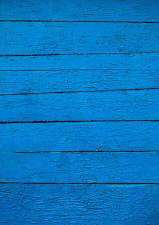 Old blue wooden background closeup photo