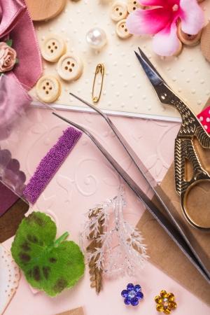 brads: Scrapbooking craft materials, scrap paper, tools and decor