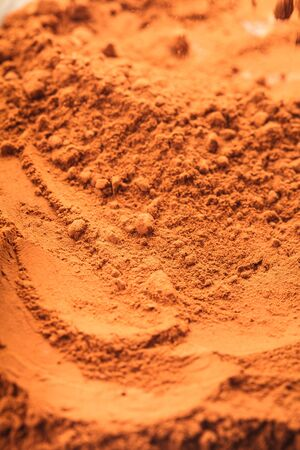 chocolate powder close up as a background Stock Photo - 18647147
