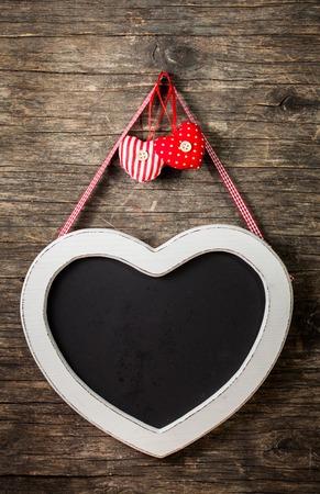 silhouette coeur: Le tableau en forme de coeur