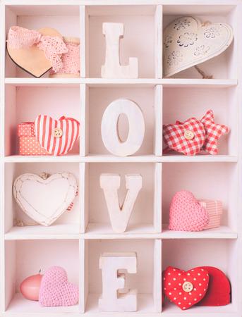Vintage valentine set photo
