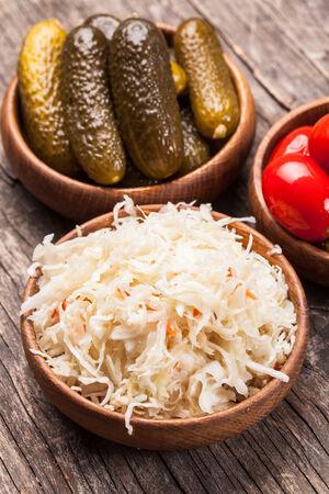 pickled: pickled vegetables