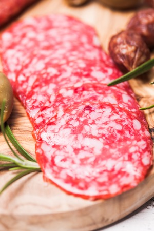 antipasto: Salami antipasto