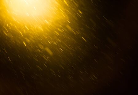 windstorm: Snow and light background Stock Photo