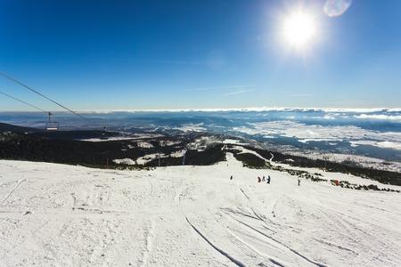 slope: Ski slope
