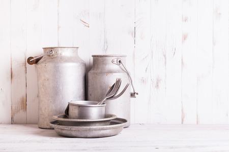 aluminium: Old aluminium utensils