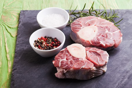 veal: Cross cut veal shank