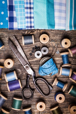 sewing supplies: Retro sewing supplies