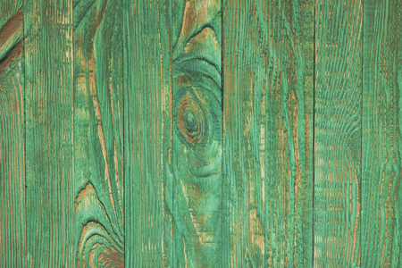 vintage timber: Green wooden wall, painted in shabby chic style