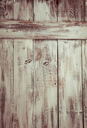stucco background: Empty old shabby white painted wooden background