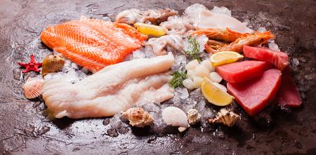 codfish: Seafood on the ice