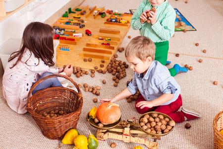 Learning through play Foto de archivo