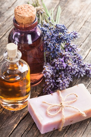 The essential oil Stock Photo