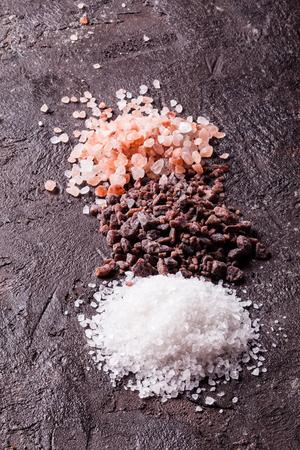 Various tupes of salts Imagens