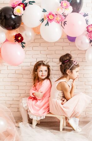 The cute little princesses