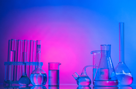 The Laboratory glass 写真素材