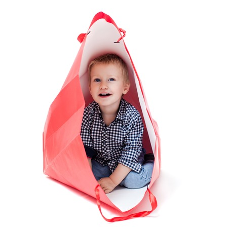 The boy inside packet