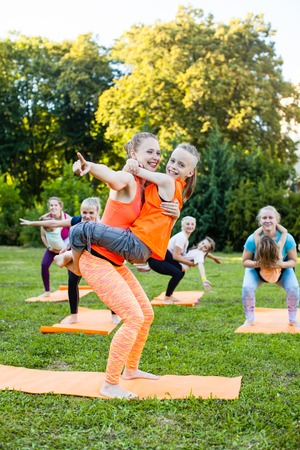Yoga with children