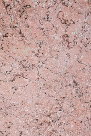 Pink marble texture background top view for design Stock Photo
