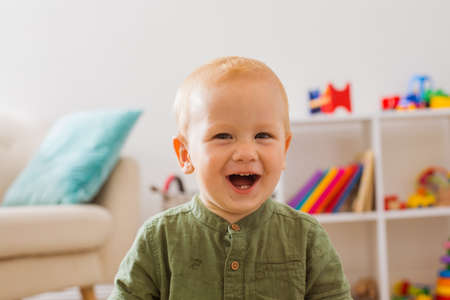 Kindergarten that causes positive emotions in the baby Stockfoto